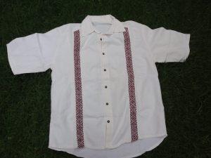 Camisa bordada punto cruz MC_2